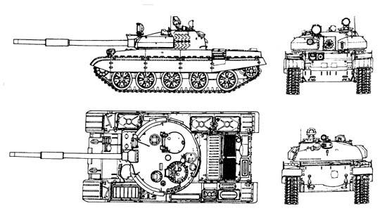 Различие между Т-72 и Т-64 в